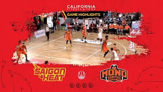 Highlights ABL9 || Home - Game 11: Saigon Heat vs Mono Vampire  06/01