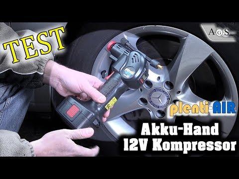 Tech-Test: Akku-12V Hand Kompressor plenti-Air