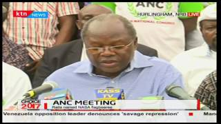 Musalia Mudavadi claims he initiated NASA but handed it over to Raila Odinga to head it