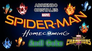 EL ABRIENDO CRISTALES MAS LOCO DE LA HISTORIA (termina bien)- Marvel: Contest of Champions