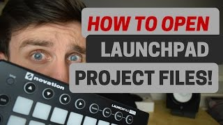 How To Open Launchpad Project Files -