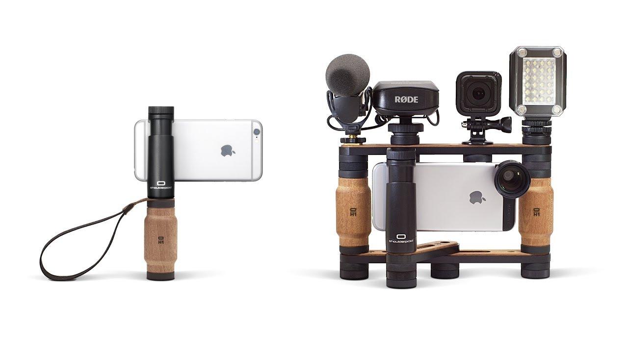 Shoulderpod Modular Smartphone Rig | Sitov Pro