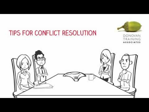 Management Training: Tips to improve your Conflict Resolution ...