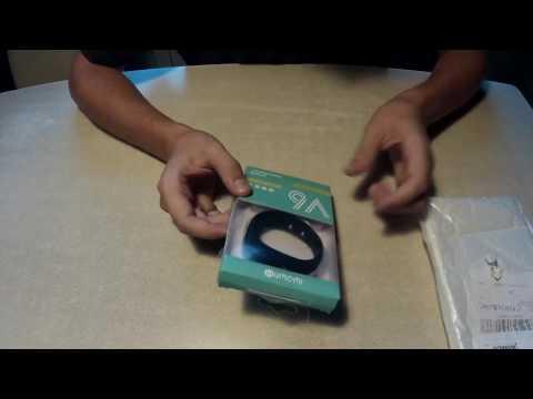 Iwown V6 unboxing - budget smart talkband/sportband