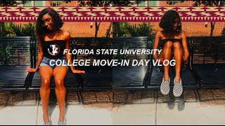 COLLEGE MOVE-IN DAY VLOG | FLORIDA STATE UNIVERSITY (CARE)