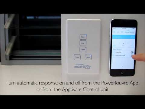 Apptivate Control Unit and Powerlouvre App Demo