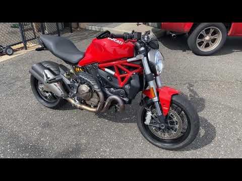 2017 Ducati Monster 821 in Massapequa, New York - Video 1