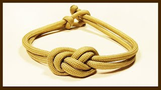 How You Can Make An Elegant Infinity Knot Parachute Cord Bracelet WhyKnot