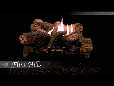 Flint Hill Ceramic Fiber Log Set