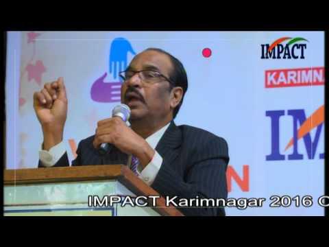 Stress|BV Pattabhiram|TELUGU IMPACT Karimnagar 2016-Part1