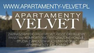 preview picture of video 'Apartamenty Velvet - Tanie noclegi w kocielisku - Pokoje Zakopane Kościelisko'