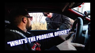 Getting PULLED OVER In My 1100hp DRAG CAR!! (Too Much Freedom)
