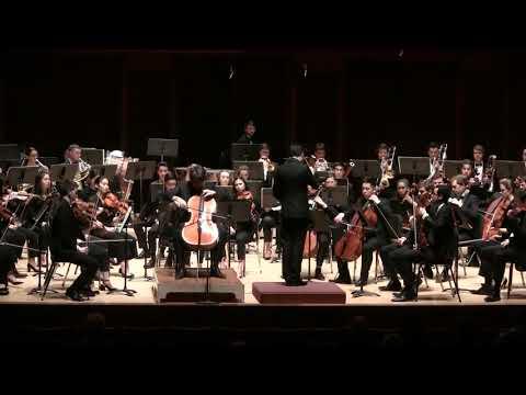 Dvorak Cello Concerto in B Minor, Lukas Goodman, Shepherd School Symphony Orchestra