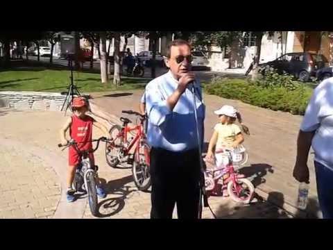Δήμος Βύρωνα: Κυριακή με ποδήλατο, Χαιρετισμός του Δημάρχου, Γρηγόρη Κατωπόδη