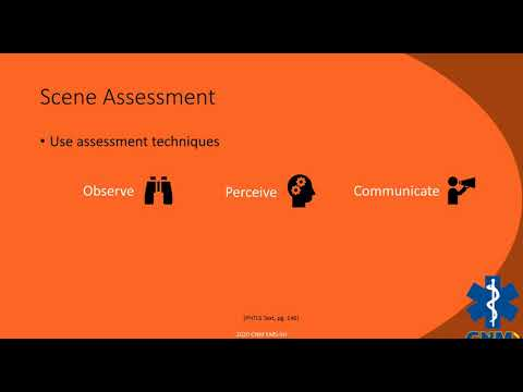 EMS Trauma Assessment- Scene Size-up
