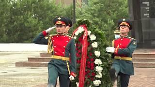 Губернатор Сергей Фургал принял участие в мероприятиях, посвященных Дню памяти и скорби