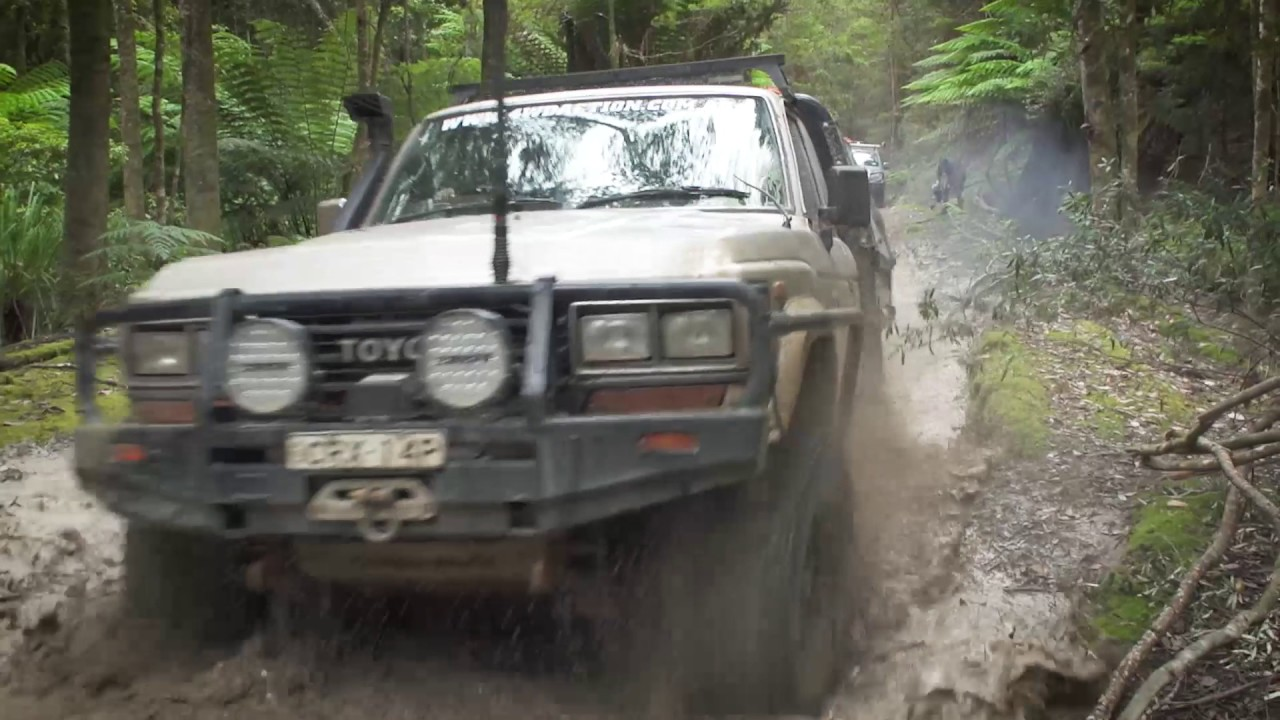 TASSIE TURNS IT UP – Check out all that MUD!