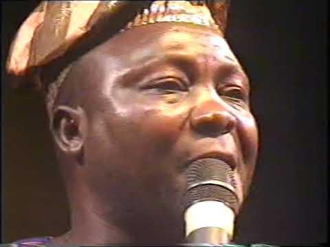 Watch Mega 99 And Busola Oke Perform 11 Years Ago @ Alhaji  Ayinde Barrister 60th Birthday In 2008