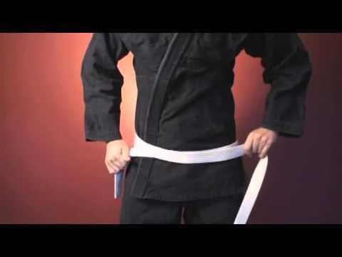 Как завязывать пояс кимоно в бразильском джиу-джитсу