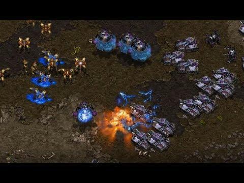 EPIC - Hiya (T) v Sky (P) on Bloody Ridge - StarCraft  - Brood War REMASTERED
