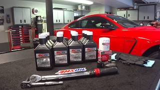 Oil Change From Hell | Shelby GT350