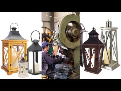 production for metal lantern