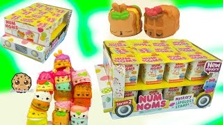 Series 2 Full Mini Ice Cream Truck Box of 24 Num Noms Surprise Blind Bag Cups with Queen Elsa