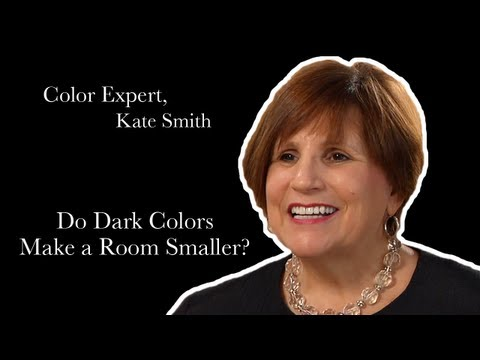 Expert Color Advice: Do Dark Colors Make a Room Look Smaller