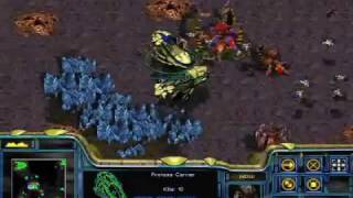 Starcraft - Protoss Mission 10: Eye Of The Storm + Ending + Credits