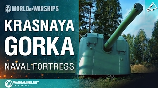 World of Warships - Naval Fortress: Krasnaya Gorka