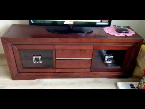 Mueble de Televisión madera modelo Versalles