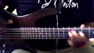 """Bass Cover of Joe """"Wanna Be Your Lover"""""""