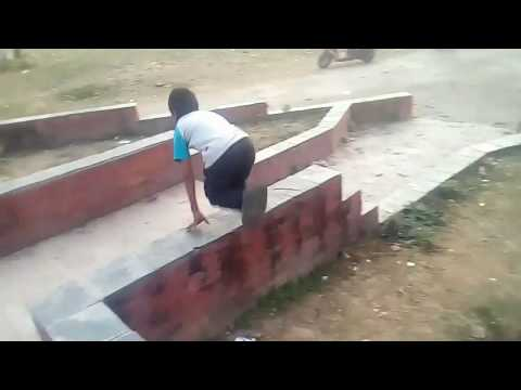 Parkour training 2018