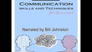 Communication Skills, A Demonstration Of Long Form, Auiobook Narration By Bill Johnston