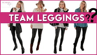 How To Wear Leggings - And Still Look Chic! (Over 40, Outfit Ideas)