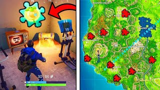 5 Jigsaw Puzzle Pieces Locations in Fortnite Battle Royale
