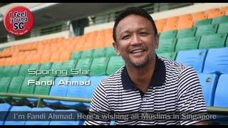 Fandi Ahmad Wishes Our Fans Selamat Hari Raya Aidiladha