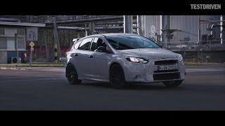 Ken Block tests the new Ford Focus RS