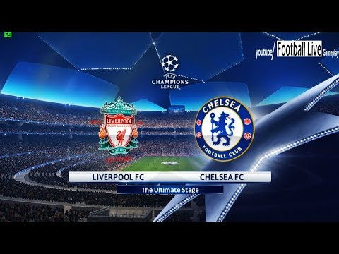 PES 2018 | Liverpool FC vs Chelsea FC | UEFA Champions League (UCL) | Gameplay PC