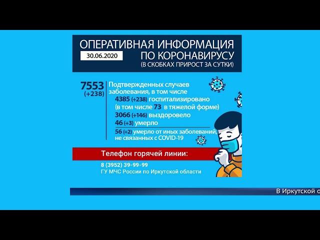 В Иркутской области 7,5 тысяч инфицированных
