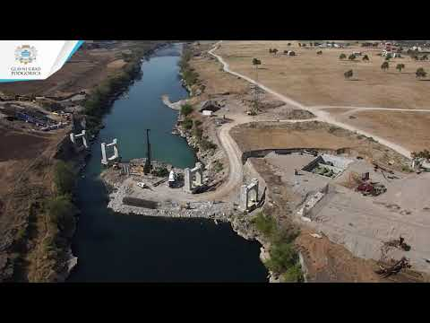 Izgradnja mosta na Morači