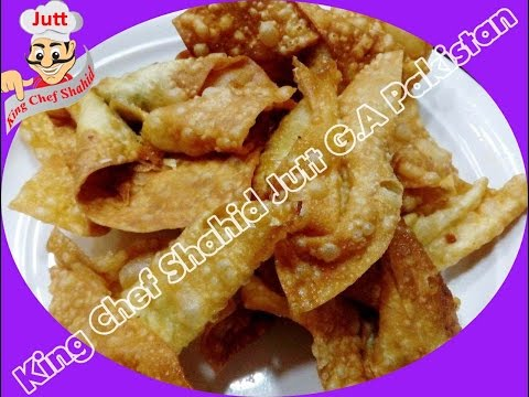 Wonton Chinese Ramzan Special (King Chef Shahid Jutt G.A Pakistan)