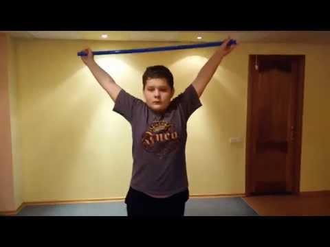 Исправление сколиоза у подростков видео
