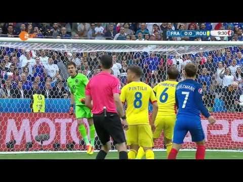 EM 2016 - Frankreich 2:1 Rumänien