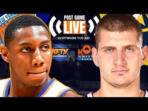 New York Knicks Embarrassed BY Denver Nuggets   |Live Postgame