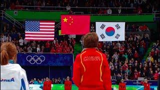 Chinese National Anthem - Hymne National Chinois (Winter Olympics 2010 - short track)