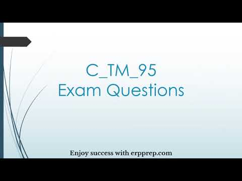 SAP TM (C_TM_95) Certification Questions Answers and Study Tips ...