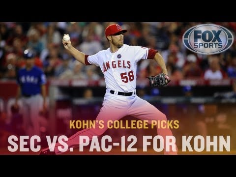 L.A. Angel Michael Kohn makes his SEC & PAC-12 picks