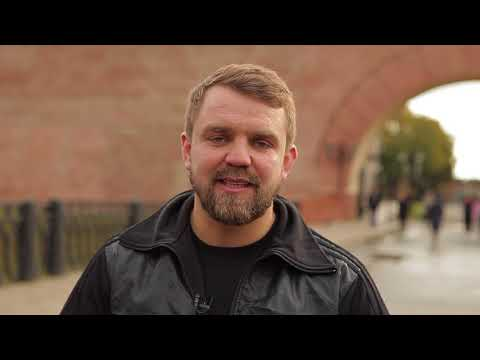В честь Дня Рождения Владимира Путина новгородцы совершили забег вокруг Кремля