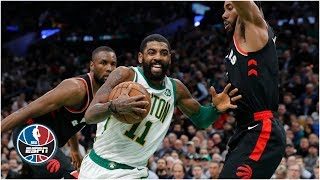 Kyrie Irving outduels Kawhi Leonard with 27 points, career-high 18 assists | NBA Highlights